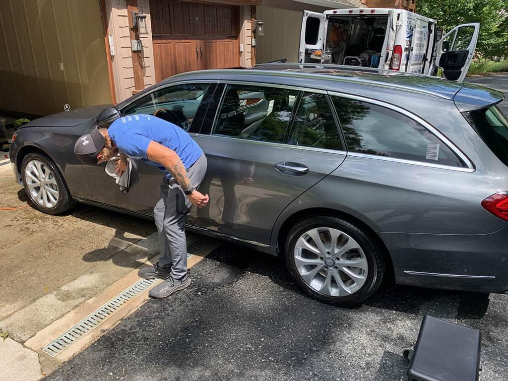 auto detailing service mercedes